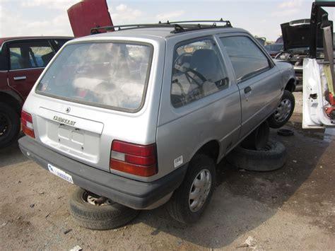 Suzuki Forsa Turbo For Sale 1986 Chevrolet Sprint Photos Informations Articles