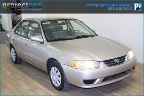 Toyota Carlstadt Nj Buy Used 2001 Toyota Corolla Le Manual 156k One
