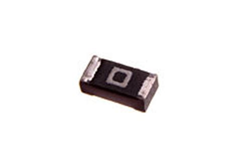 surface mount led with integrated resistor zero ohm link