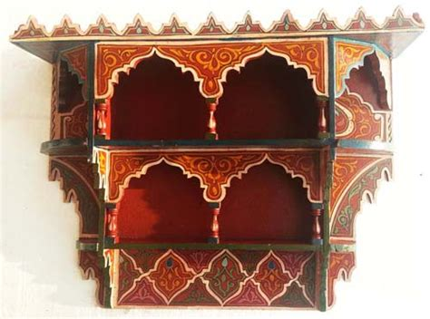 Moroccan Shelf by Painted Moroccan Shelf