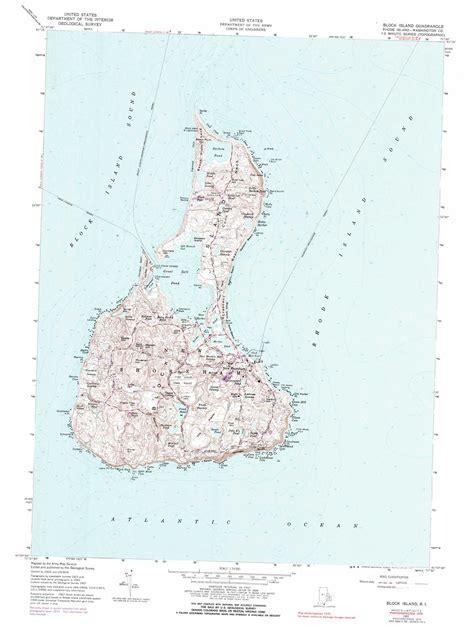 block island map block island topographic map ri usgs topo 41071b5