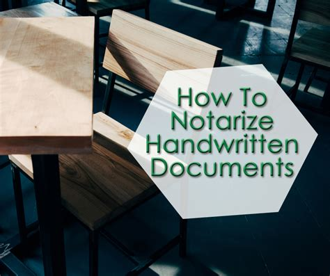 How To Notarize A Document In