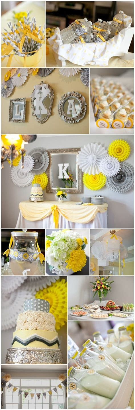 Baby Shower Decorations Yellow by 25 Best Ideas About Yellow Baby Showers On