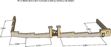 Fondation Mur Parpaing 5173 by Fondation Mur Parpaing Fondation Dun Mur De Cl Ture En