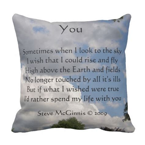 Poems About Pillows by You Poem Throw Pillow Zazzle