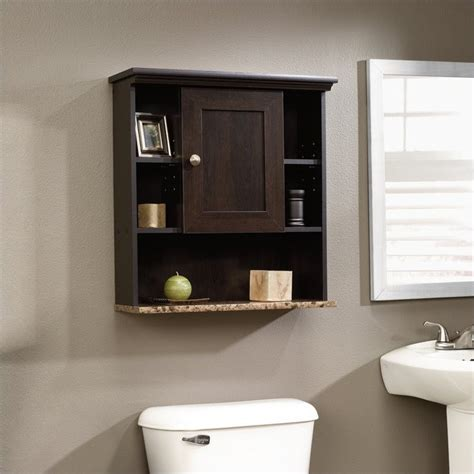 Sauder Wall Cabinet by Wall Cabinet In Cinnamon Cherry 414059