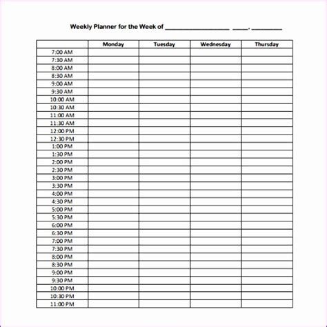 7 Excel 24 Hour Schedule Template Exceltemplates Exceltemplates 24 Hour Schedule Template