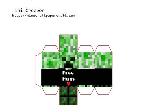Papercraft Minecraft Creeper - 59 best images about grahams crafts on ea