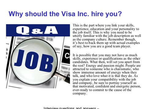 Mba Questions For Visa Inc by Visa Inc Questions And Answers