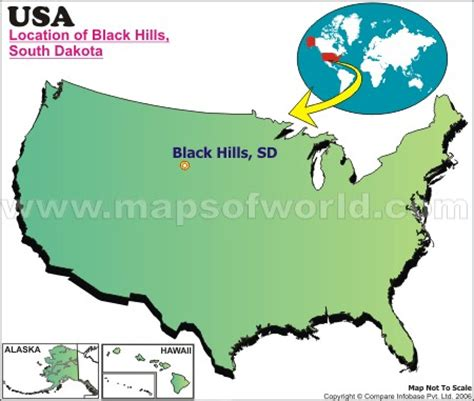 where is black hills, south dakota