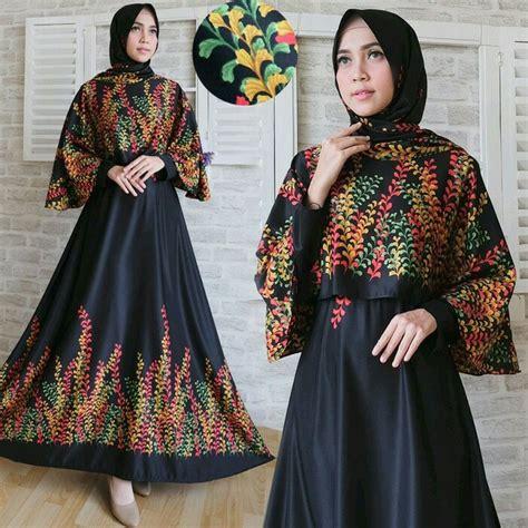 Baju Maxi Wanita Ar1476 jual baju wanita busana muslim gamis maxi pesta pengajian arisan lila firna lyla virna bergo