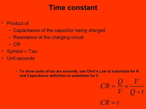 time constant for capacitor capacitor time constant unit 28 images lesson 2 capacitors twinkle toes engineering