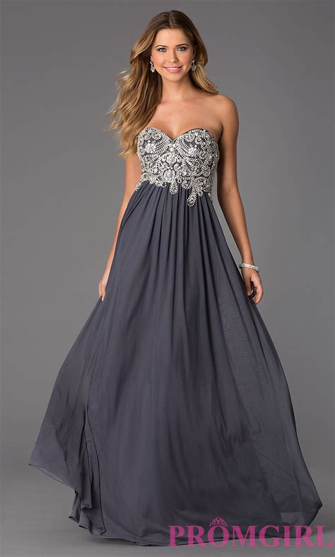 Floor Length Gowns by Jvn By Jovani Prom Dress Floor Length Strapless Dress