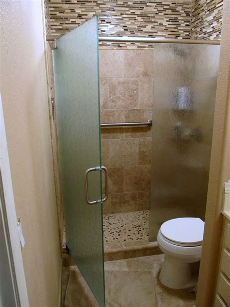 Small Bathroom Glass Shower Bathroom Glass Door For Small Bathrooms Home Ideas Collection