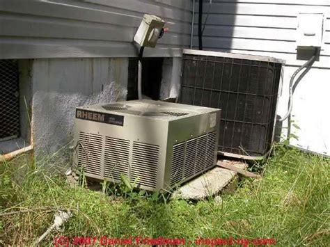 air conditioner installation air conditioning compressor condenser installation errors air
