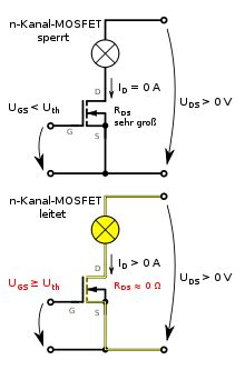 bipolar transistor berechnen 181 c soll mit mosfet last schalten mikrocontroller net