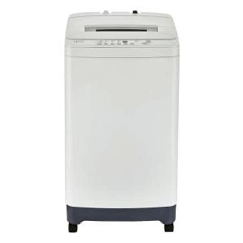 haier 2 1 cu ft portable top load washer in white