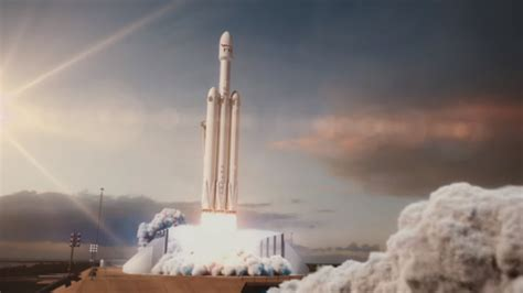 spacex set to launch world s most powerful rocket the falcon heavy test flight live elon musk s spacex all set