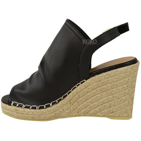 wedge slippers womens new womens espadrille wedge sandals platforms low