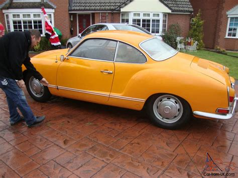 1971 volkswagen karmann ghia orange