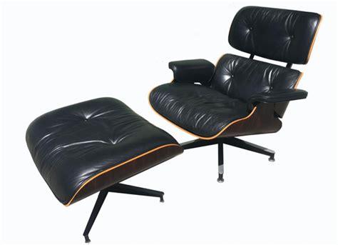 eames lounge chair  ottoman vintage film  furniture