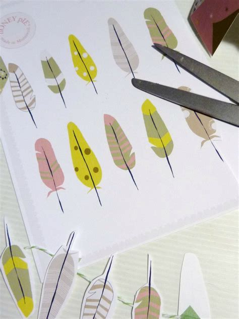 printable paper feathers free printable paper feathers great for a garland or for