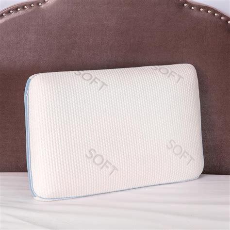 Softest Memory Foam Pillow by Biopedic Density Memory Foam Soft Feel Standard Pillow