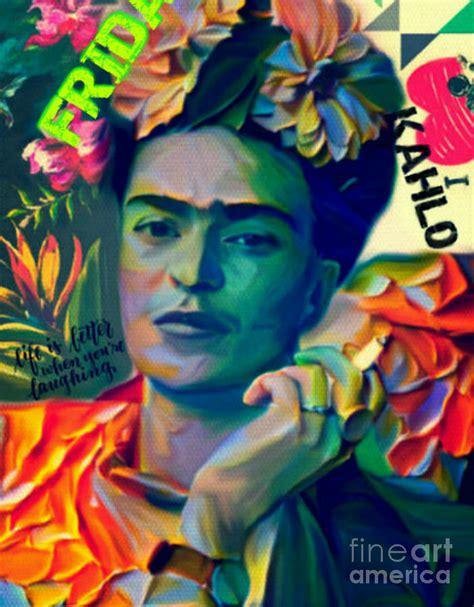 werke frida kahlo frida kahlo plakative pop pur painting by felix
