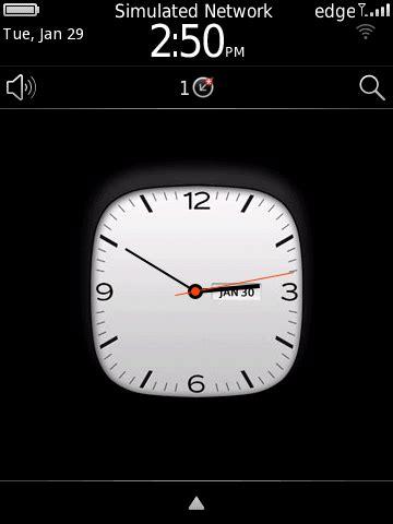 themes clock blackberry free blackberry10 clock theme beclock blackberry