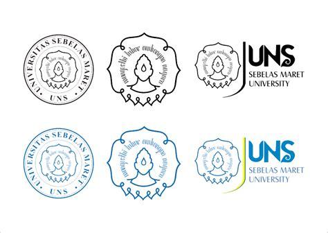 desain gapura vector logo uns universitas sebelas maret vector free logo
