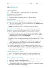 11 4 meiosis name class date 11 4 meiosis lesson