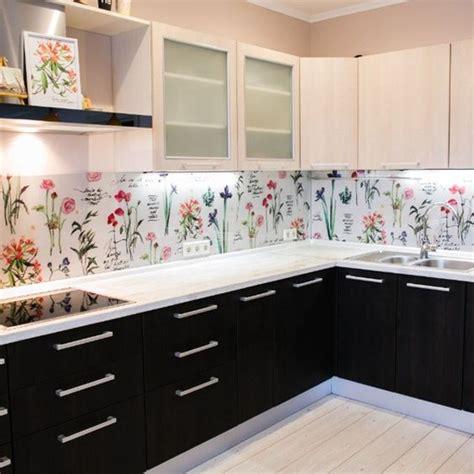wallpaper kitchen backsplash ideas 20 beautiful wallpaper kitchen backsplashes with nature elements home design and interior