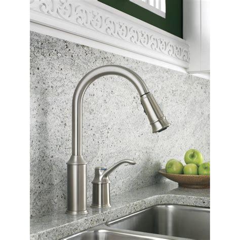 moen aberdeen single handle pull down sprayer kitchen moen 7590c aberdeen chrome pullout spray kitchen faucets