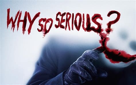 batman joker wallpaper why so serious why so serious wide 1680x1050