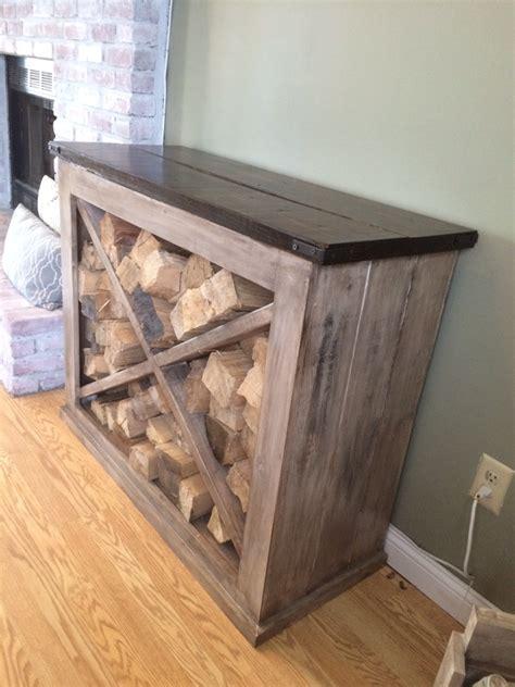 diy indoor firewood storage rack white interior wood rack diy projects