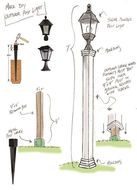 how to install an outdoor light post 25 best ideas about outdoor ls on rustic
