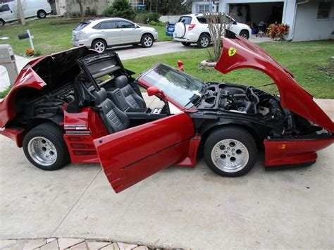 fake ferrari for sale 1982 ferrari 512bbi convertible supercharged replica kit