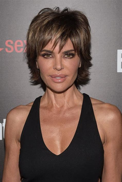 achieve lisa rinna hair 15 lovely ways to style your short hair this spring