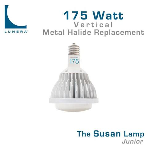 led replacement l for 400 watt metal halide lunera susan junior led 175 watt metal halide replacement