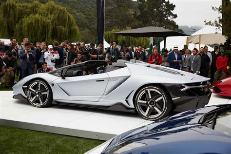 lamborghini minivan see the most exciting cars from the quail motorsports