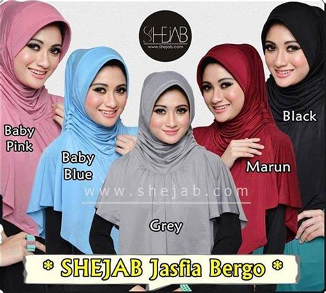 Jilbab Bergo Hudaiva Purple Hm020 Size Xs Pakaian Islami Abiti Moslem Style September 2014
