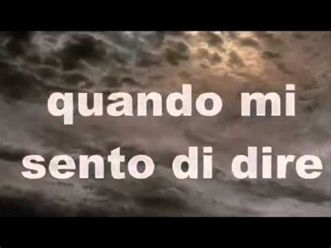 vasco dannate nuvole testo vasco canta dannate nuvole con karaoke 2014