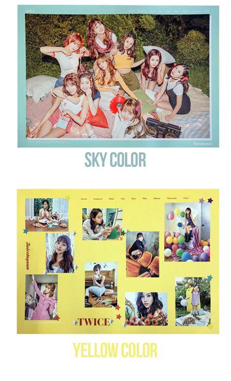1st Album Twicetagram official poster 1st album twicetagram poster