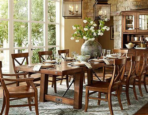 Pottery Barn Dining Room Set dining room furniture 187 gallery dining
