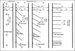 Parking Garage Design Guidelines Mathematician Suggests 45 Degree Angles To Increase