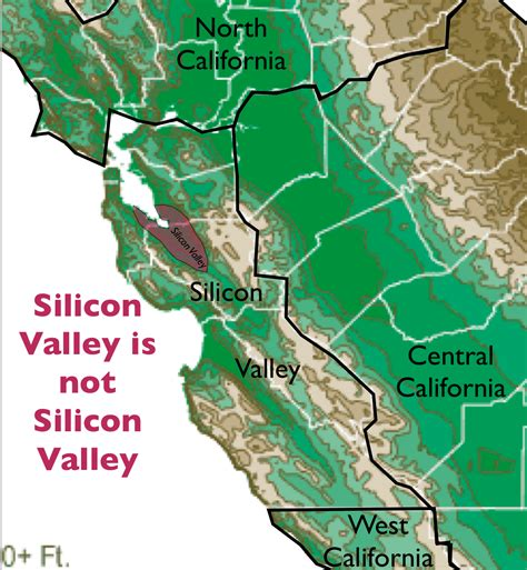 silicon valley usa map tim draper s proposed six californias geocurrents
