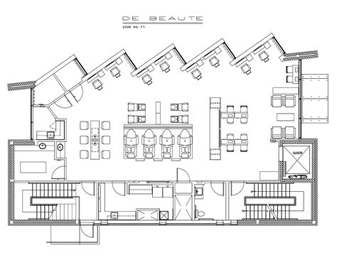 floor plan of a salon beaute salon floor plan house plans 3965