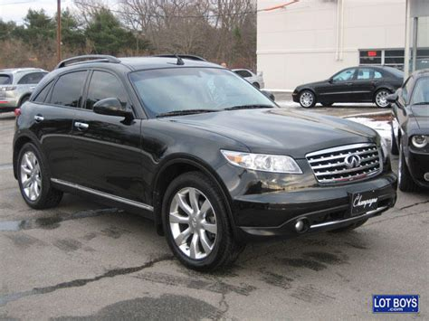 sold 2006 black infiniti fx35 awd for sale sold