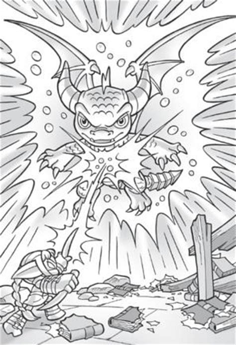 coloring pages of stealth elf skylanders quot spyro quot new figure card code spyro s adventure