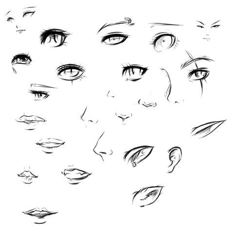 anime eyes nose tutorial by ryky on deviantart